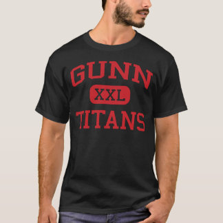 Gunn -タイタン-高等学校-パロ・アルトカリフォルニア tシャツ
