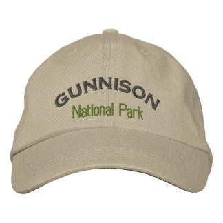 Gunnisonの国立公園 刺繍入りキャップ