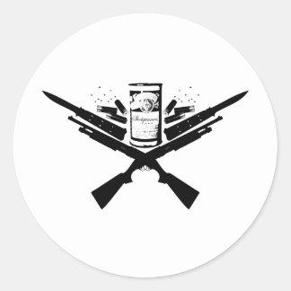guns&knives ラウンドシール