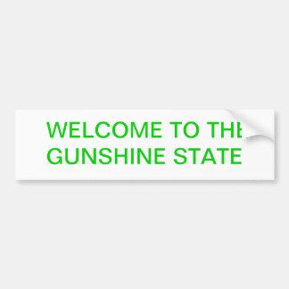GUNSHINEの国家 バンパーステッカー