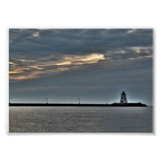 Gurnetの灯台プリマスマサチューセッツポスター ポスター