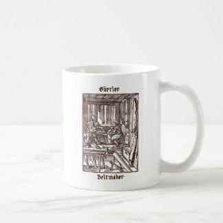 Gürtler - Beltmaker コーヒーマグカップ
