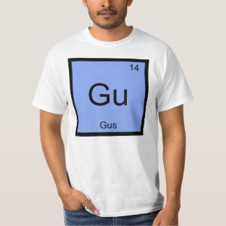 Gus一流化学要素の周期表 Tシャツ