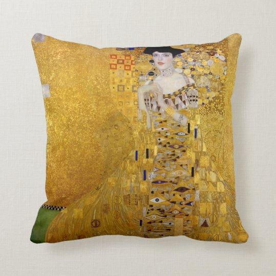Gustav Klimt , Adele Bloch-Bauer's Portrait クッション