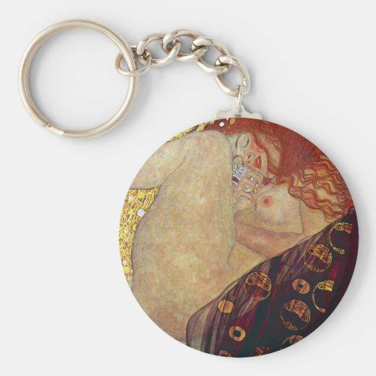 """Gustav Klimt , """" Danae """" キーホルダー"""