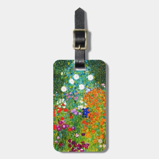 "Gustav Klimt , "" Farmhouse garden "" ラゲッジタグ"