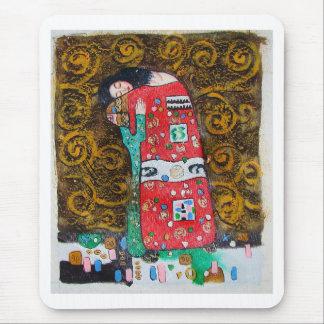 "Gustav Klimt , "" Love "" マウスパッド"