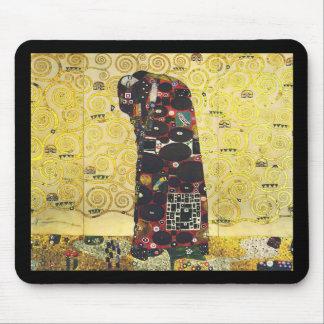 "Gustav Klimt , "" The Embrace "" マウスパッド"