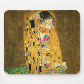 "Gustav Klimt , "" The Kiss "" マウスパッド"