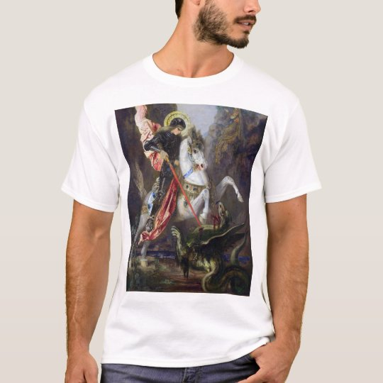 Gustave Moreau , Saint George and the Dragon Tシャツ