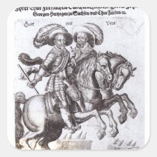 Gustavus Adolphus IIおよびGustavus Adolphus IV スクエアシール