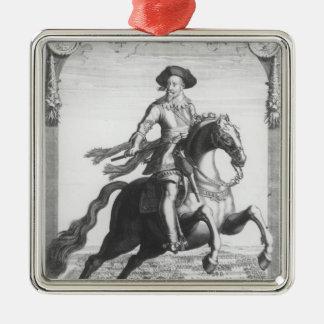 Gustavus Adolphus IIのスウェーデンの王、 メタルオーナメント
