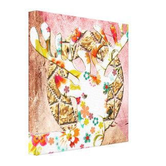 Gustique著設計されている春時間キャンバス- キャンバスプリント