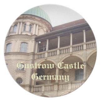 Gustrowの城ドイツ プレート