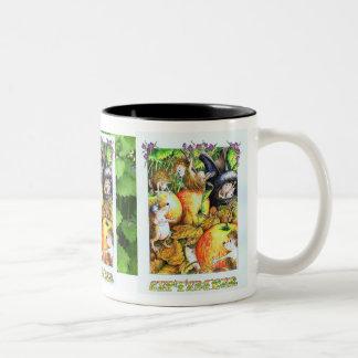 Guthramのハリネズミ9月 ツートーンマグカップ