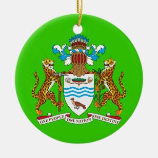 GUYANA*のカスタムなクリスマスのオーナメント セラミックオーナメント