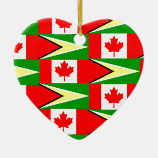 guyaneseカナダ人 セラミックオーナメント