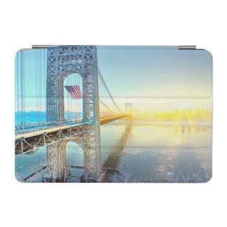 GWBの接続の城砦リーNJおよびマンハッタンNYPlus iPad Miniカバー