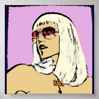 Gwenのポップアートポスター ポスター