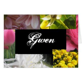 Gwen カード