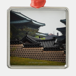 Gyeongbokgungの屋根瓦 メタルオーナメント