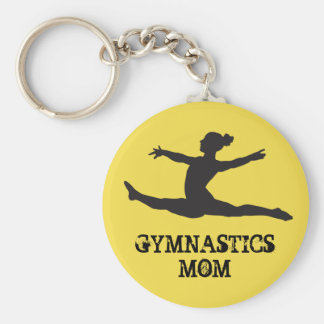 Gymnastics Mom Keychain キーホルダー
