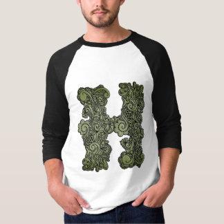 Hの緑茶 Tシャツ