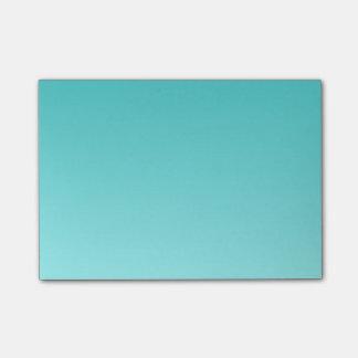 Hの線形勾配-青緑色をつけるターコイズ ポストイット