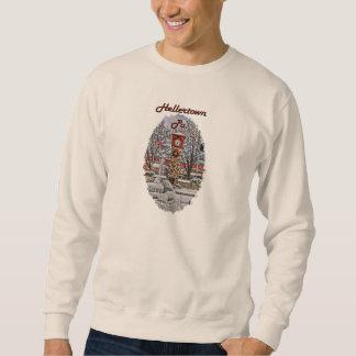 H町の冬のワイシャツ スウェットシャツ