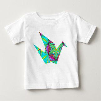 H1ベビーの平和クレーンT-Shirt.1 ベビーTシャツ