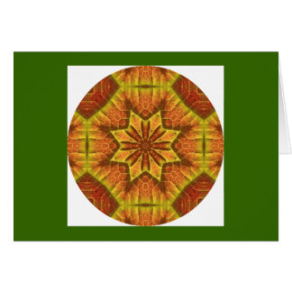 H1秋の葉の目まぐるしい曼荼羅のカード設計1 カード