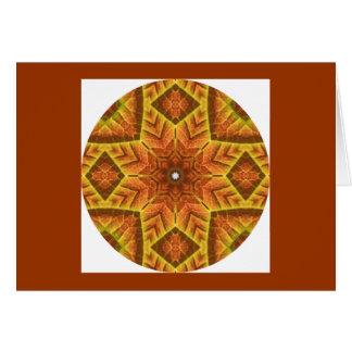 H1秋の葉の目まぐるしい曼荼羅のカード設計2 カード
