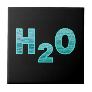 H2O水黒 タイル
