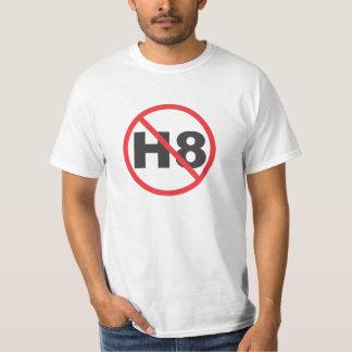 H8無し(憎悪無し) Tシャツ