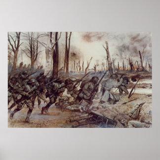 H.チャールズMcBarron著ハーレムからの地獄の戦闘機 ポスター