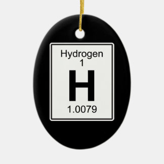 H -水素 セラミックオーナメント