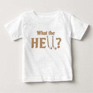 H - E -二重ホッケー棒 ベビーTシャツ