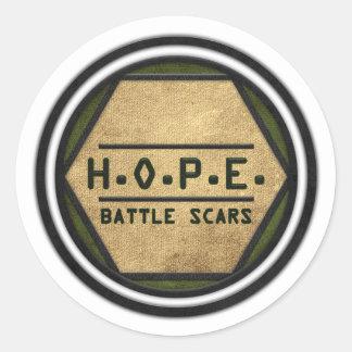 H.O.P.E. 戦いの傷 ラウンドシール