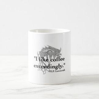 H.P. Lovecraftのコーヒー・マグ コーヒーマグカップ
