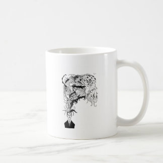 H.P. Lovecraftのモンスター コーヒーマグカップ