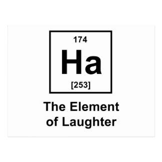 Haの笑い声の要素 ポストカード