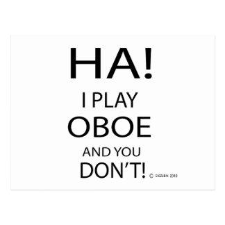 Ha Oboe ポストカード
