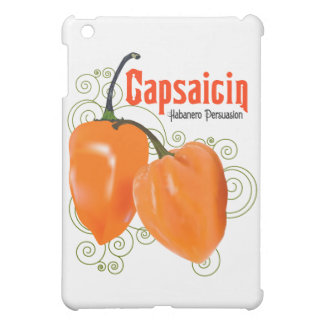 Habaneroのカプサイシンのチリペッパー$49.95のiPadの場合 iPad Miniケース