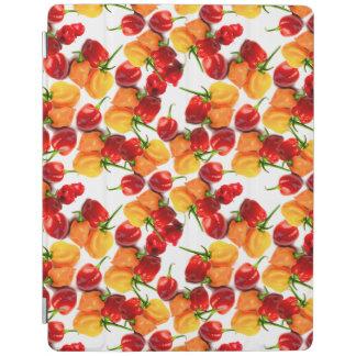 Habaneroの唐辛子の赤唐辛子のオレンジ熱い食糧 iPadスマートカバー