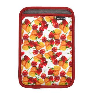 Habaneroの唐辛子の赤唐辛子のオレンジ熱い食糧 iPad Miniスリーブ