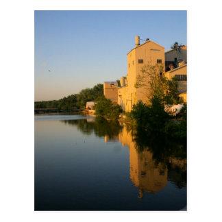 Hackensackの川 ポストカード