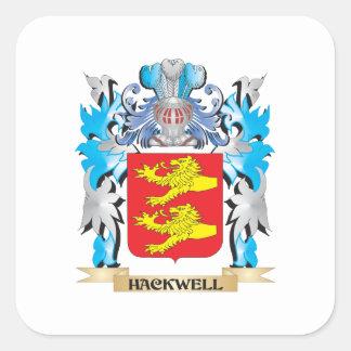 Hackwellの紋章付き外衣-家紋 スクエアシール