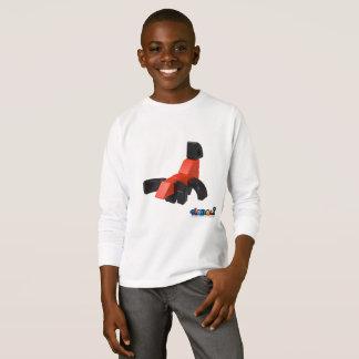 Hadaliは-子供のTシャツ- Hadaliの蠍をもてあそびます Tシャツ