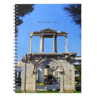 Hadrianのゲート-アテネ ノートブック