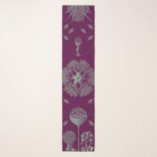 Haeckelの紫色 スカーフ